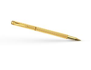 Чернильная ручка Caran d'Ache Ecridor Chevron Gilded, позолота, орнамент  838-208