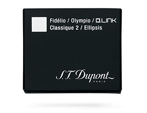 Картриджи S.T. Dupont S.T. Dupont, для перьевой ручки, черный, 6шт  40110