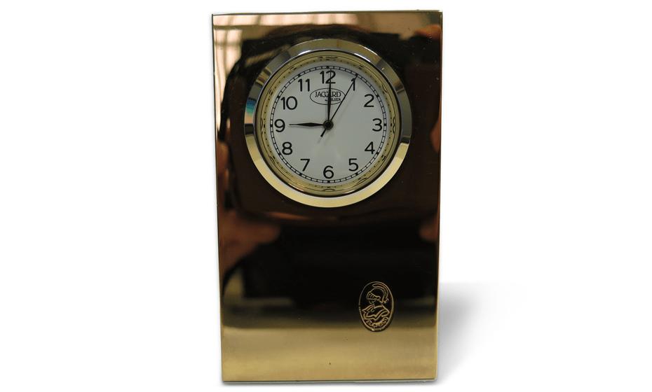 Часы настольные El Casco El Casco, позолота, кварцевые  M660L