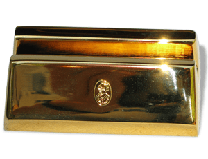 Подставка для визиток El Casco El Casco, латунь, позолота  M670L