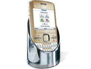 Подставка под мобильный телефо El Casco El Casco, хром  M691CT