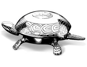 Черепаха-звонок El Casco El Casco, хром  M700CT