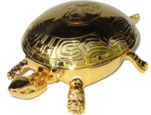 Черепаха-звонок El Casco El Casco, позолота, покрытие латунь  M700L
