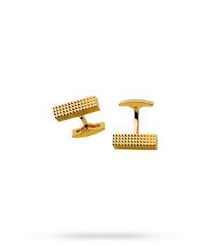 Запонки S.T. Dupont S.T. Dupont, в форме миниатюрных слитков, позолота  5117