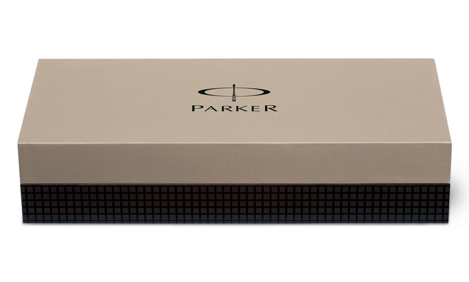 Чернильная ручка Parker Duofold Black GT, акриловая смола, позолота 23К  402.842.21