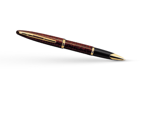 Чернильная ручка Waterman Carene Amber GT, янтарь, лак, позолота 23К  41104