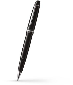 Чернильная ручка Montblanc Meisterstuck LE GRAND, платина  7571