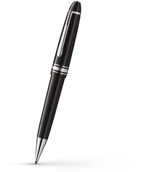 Шариковая ручка Montblanc Meisterstuck Le Grand, платина  7569