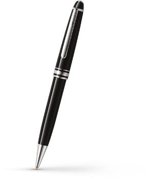 Шариковая ручка Montblanc Meisterstuck Platinum Line Classique  2866