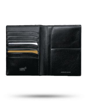 Бумажник Montblanc Meisterstuck, 11 х 14,5 см, кожа  14094