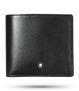 Бумажник Montblanc Meisterstuck, 4 cc, с отделение для мелочи  7164