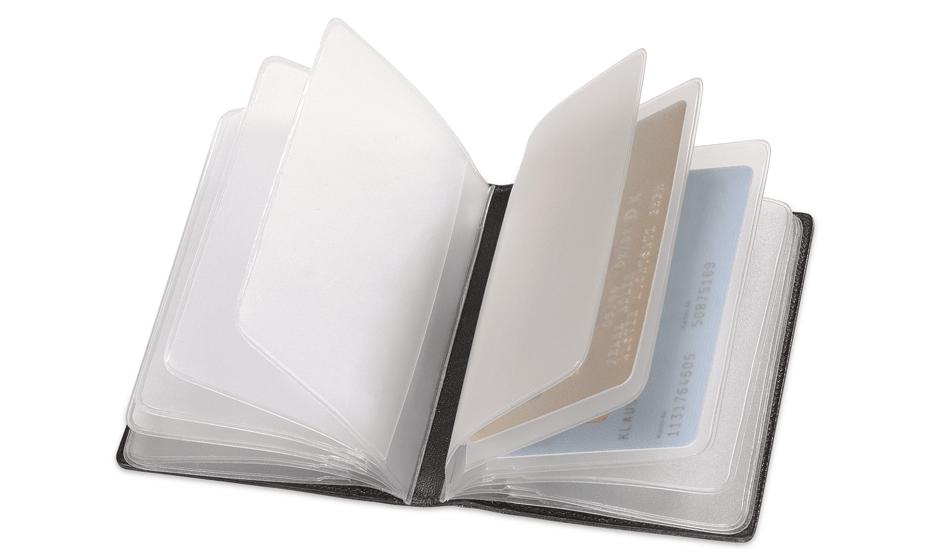 Чехол для кредитных карт Montblanc Meisterstuck, черный  5527