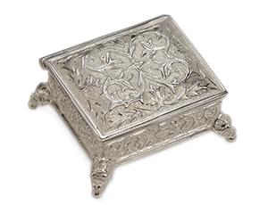 Музыкальная шкатулка Reuge STELLINA, мини, серебро 925  AXA17.4406.000