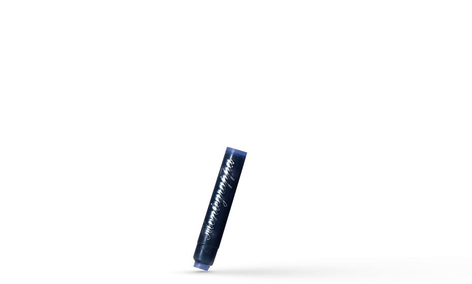 Картридж Montegrappa Montegrappa, для ручки перьевой, синий, 8шт/уп  IA00C0EB
