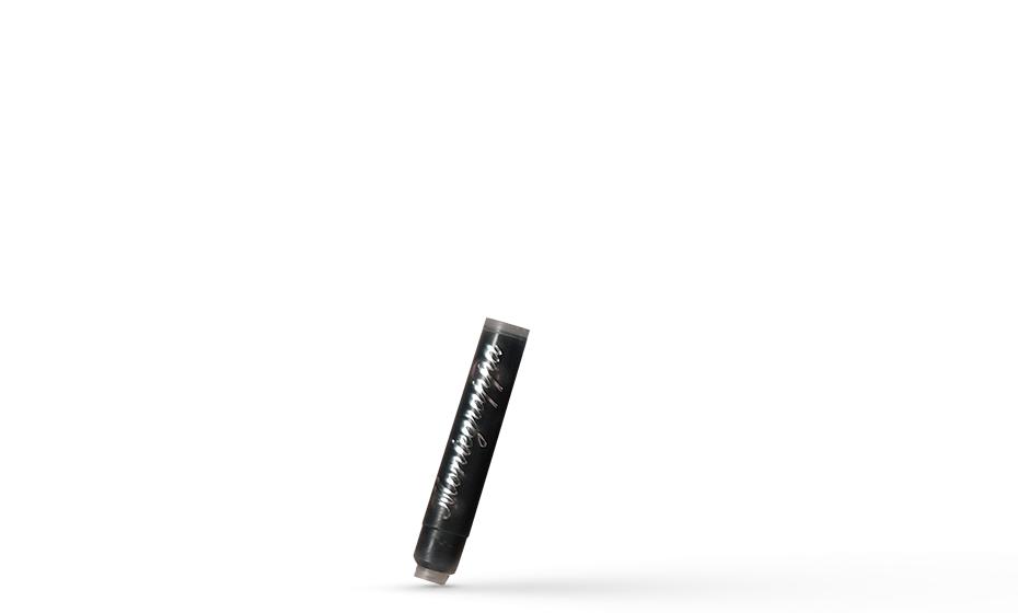 Картридж Montegrappa Montegrappa, для ручки перьевой, черный, 8шт/уп  IA00C0EC IA00C0EC