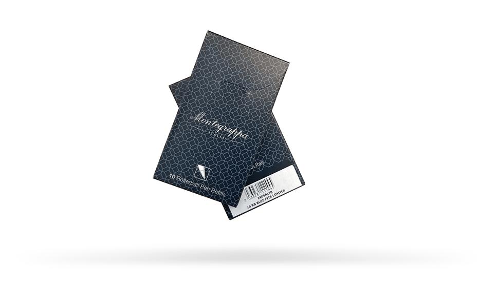 Стержень Montegrappa Montegrappa, чернильный, экстра синий, 111 мм  IA00RLTB