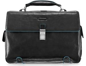 Портфель Piquadro Piquadro, кожа, черный  PCA1066B2/N