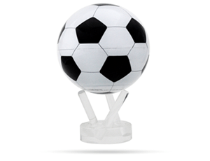 Глобус Mova Mova Футбольный мяч, самовращающийся, бело-черный  MG-45-SCR