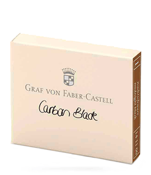 Картриджи Graf von Faber-Castell Graf von Faber-Castell, с чернилами, черные  141100