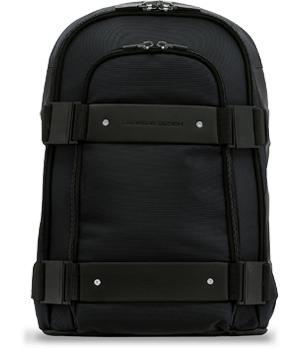 Рюкзак Porsche Design Back Bag, техническая ткань, синий, одно отделение  4090001096