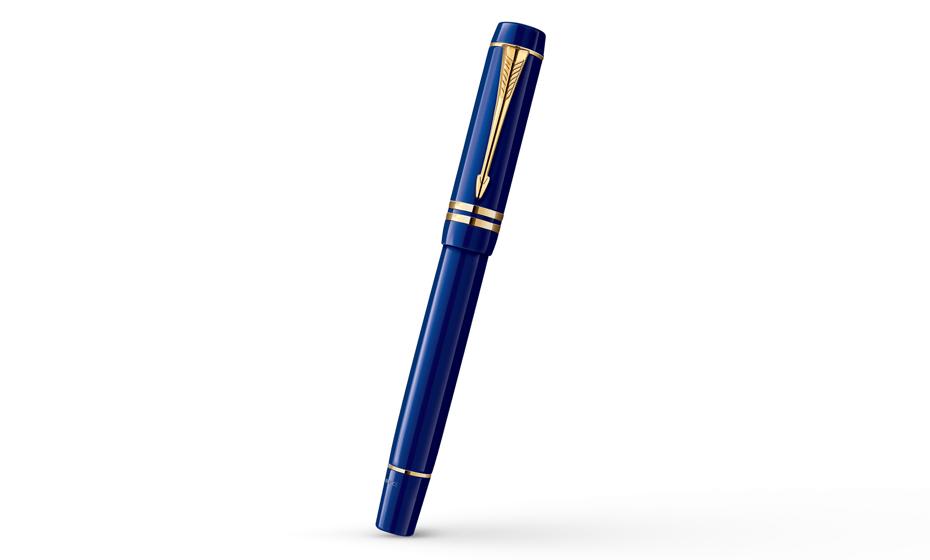 Перьевая ручка Parker Duofold International Lapis Lazuli, толщина линии  1907184