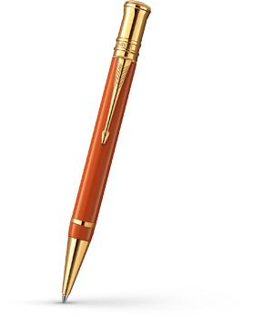 Шариковая ручка Parker Duofold Big Red, красная, толщина линии M, акрилов  1907192