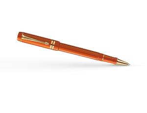 Чернильная ручка Parker Duofold Big Red, красная, толщина линии F, акрилов  1907193