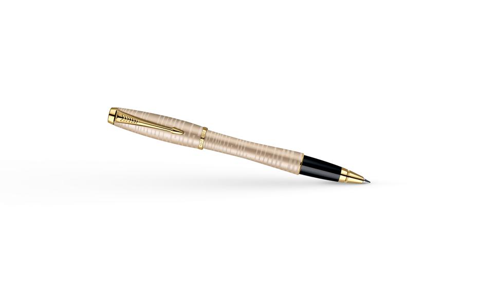 Чернильная ручка Parker Urban Premium Golden Pearl, толщина линии F, аноди  1906856