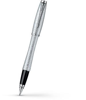 Перьевая ручка Parker Urban Premium Silver Blue Pearl, перо F нержавеюща  1906868