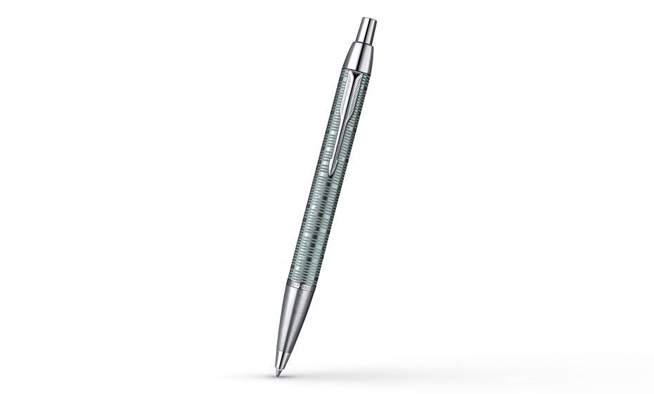Шариковая ручка Parker IM Premium Emerald, зеленая, анодированный алюмини  1906733