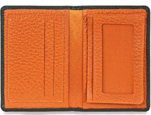 Футляр для карт Avanzo Daziaro Avanzo Daziaro, кожа, черный-оранжевый  AD-017FL-719417'