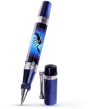Чернильная ручка Ancora Scorpio, акриловая смола, позолота  SCORPIO-RB