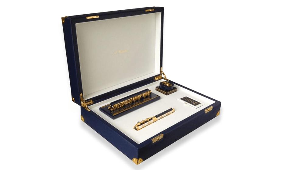 Набор S.T. Dupont Восточный экспресс(Orient Express), перьевая ручка  C410032N