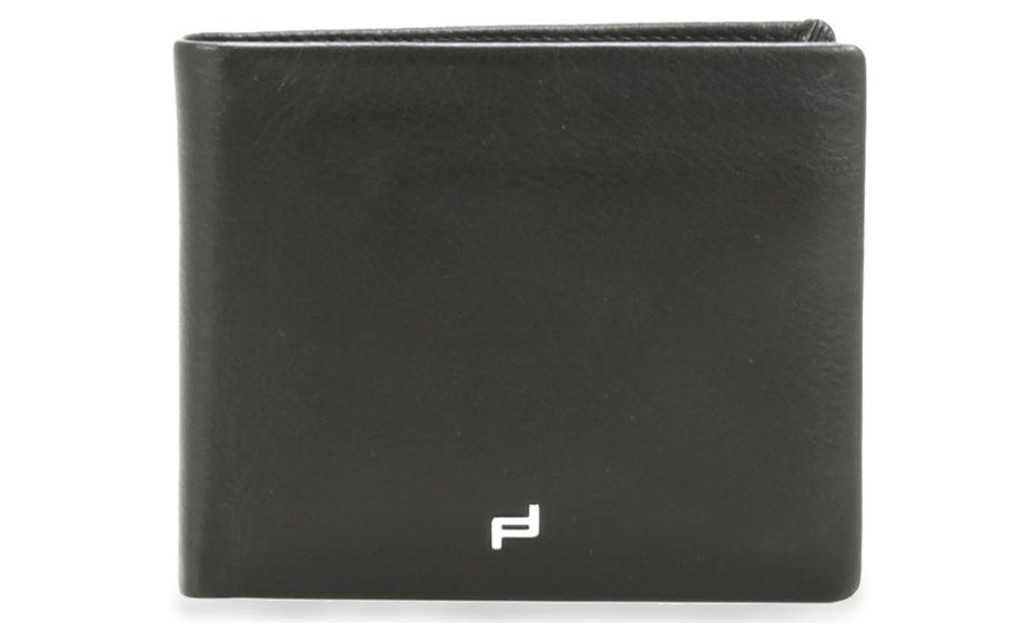 Портмоне Porsche Design Billfold, мужское, черное, кожа  4090001717