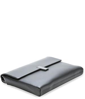 Папка Porsche Design Porsche Design, зернистая кожа, черная  4090001780