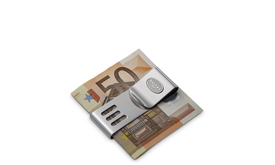 Зажим для денег Dalvey Dalvey, двойной, спортивный, сталь  71009-1