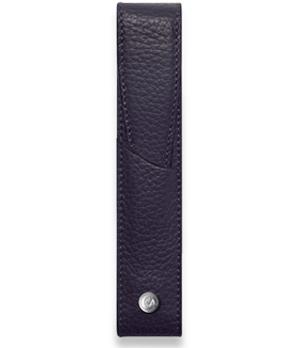Чехол для ручки Caran d'Ache для 1 ручки, синий, кожа  6201-449