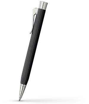 Шариковая ручка Graf von Faber-Castell Intuition, эбеновое дерево, платина  147331