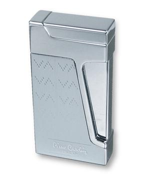 Зажигалка Pierre Cardin Pierre Cardin, кремниевая турбо, сплав цинка, хром  MFH-272-05