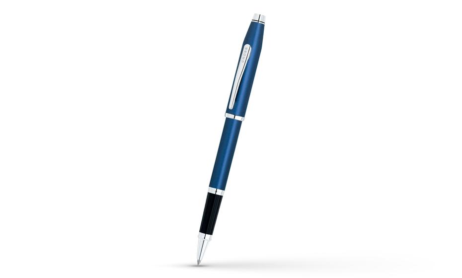 Чернильная ручка Cross Century II Metblue, лаковое покрытие, хром  414-24