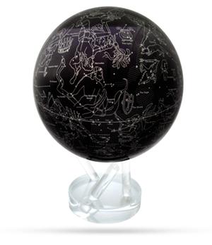 Глобус Mova Mova Созвездие, самовращающийся, 88 созвездий, чер  MG-85-STARMAP