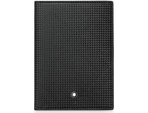Обложка для паспорта Montblanc Extreme, черная  111142
