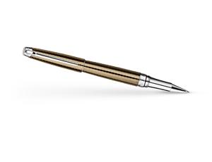Чернильная ручка Caran d'Ache Leman Caviar, рисунок чешуи рыбы, лак  4779-497