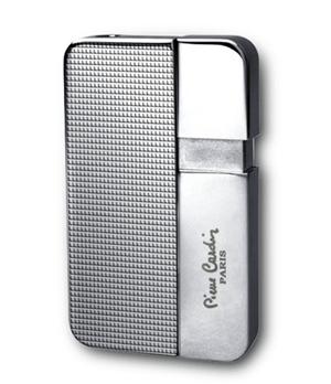 Зажигалка Pierre Cardin газовая пьезо, сплав цинка, хром  MFH-347-3