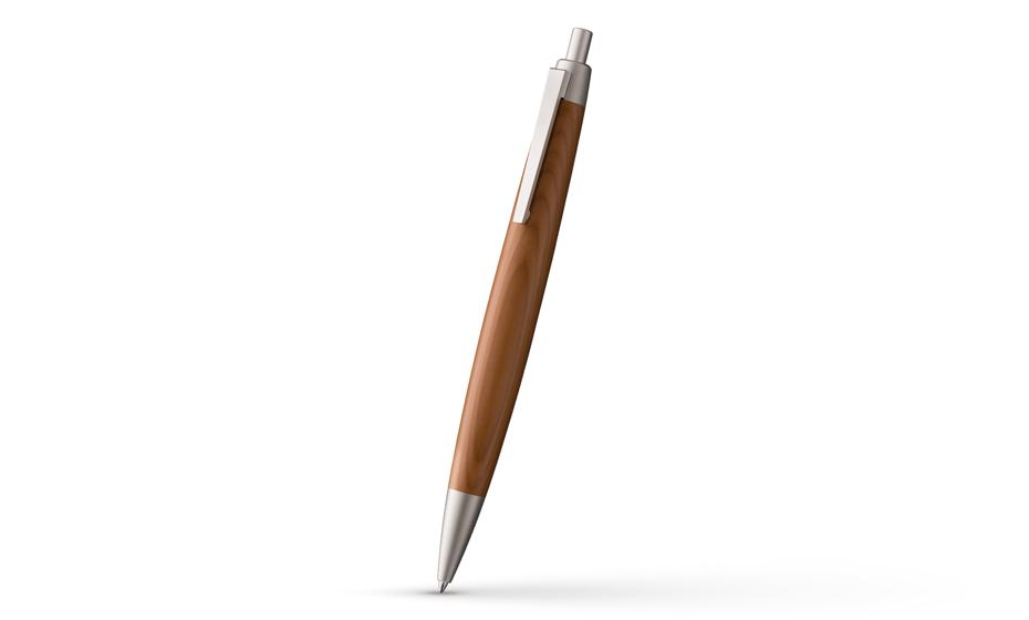 Шариковая ручка Lamy 2000, дерево, палладиевое покрытие  4029644