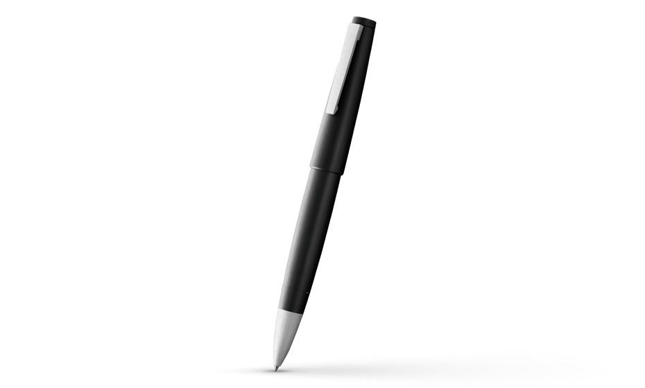 Чернильная ручка Lamy 2000, черная, поликарбонат, сталь  4001054
