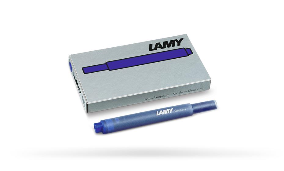 Картриджи Lamy Lamy Т10, синие, 5 шт в упаковке  1602077