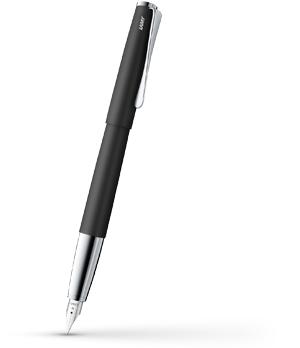 Перьевая ручка Lamy Studio, сталь, матовый лак, хром, черная  4000448