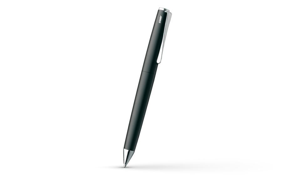 Шариковая ручка Lamy Studio, матовый лак, палладий, черная  4026540