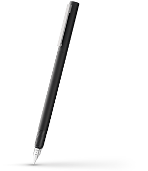 Перьевая ручка Lamy Cp 1, сталь, матовый лак, черная  4000424